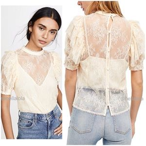 🆕Free people lace top